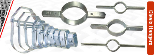 clevis hangers pipe clamps